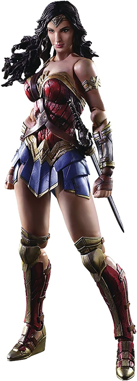 DC Comics stl057363Wonder Woman Film Variant Play Arts Kai Action Figur