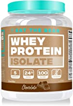 Eat the Bear, Whey Isolate Protein Powder, Keto Friendly Protein Powder, 100 Calories, All Natural, Gluten Free (25 Servings, Chocolate)