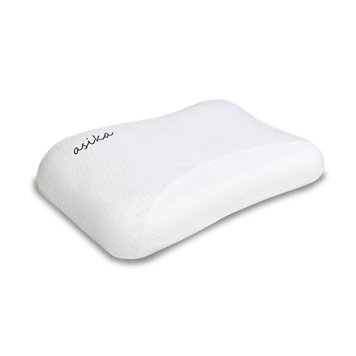 独裁放課後インストラクター健康枕 ASIKA 人間工学設計快眠枕 無臭柔らかい 頸椎サポートストレス解消 低反発まくら