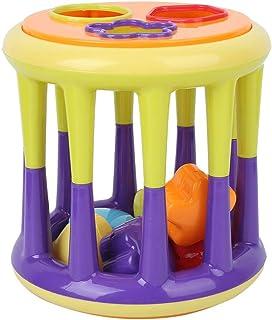 Glad oppervlak Babybouwstenen, bouwstenen speelgoed, voor baby 6 maanden oud+ Thuis spelen Baby 6 maanden oud+(314 Bouwste...