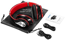 Mpow 059 Bluetooth Headphones Over Ear, Hi-Fi Stereo Wireless Headset, Foldable, Soft Memory-Protein Earmuffs, w/Buil...