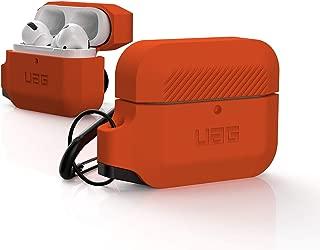 URBAN ARMOR GEAR Apple AirPods Pro用 充電ケース用ケース(耐衝撃/カラビナ付属)オレンジ 【日本正規代理店品】 UAG-APPROS-OR