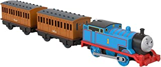 Thomas & Friends Thomas Annie & Clarabel, battery-powered motorized toy train for preschool kids 3 years and up