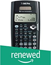 Texas Instruments TI-36X Pro Engineering/Scientific Calculator (Renewed)