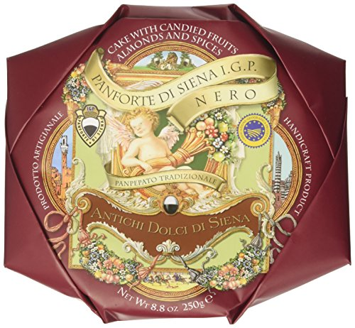 La Fabbrica Del Panforte Panforte di Siena Igp Nero-Panpepato - 2 Confezioni da 250 g