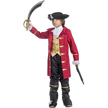 Viste a América - 795-M - Traje de Pirata para los niños - 8-10 ...