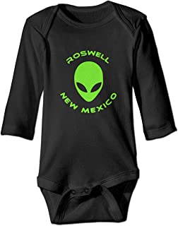 7e0bc224e Moulton Mansfield Roswell New Mexico Alien Unisex Baby Newborn Long Sleeve  Onesies Bodysuits Cotton