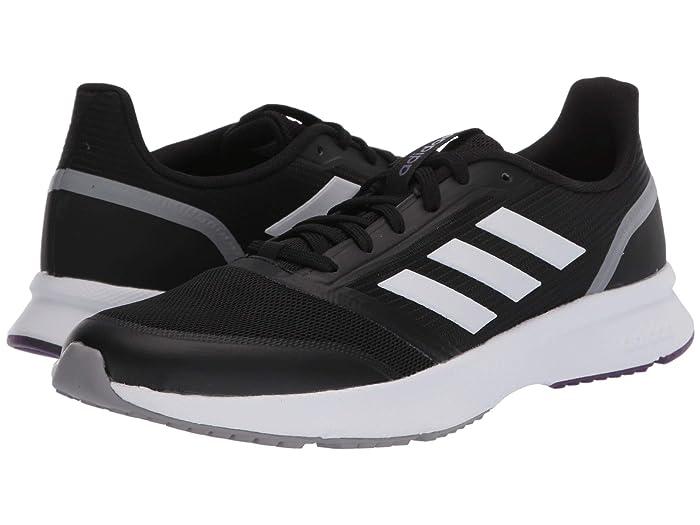 adidas Running  Nova Flow (Core Black/Footwear White/Light Granite) Womens Running Shoes