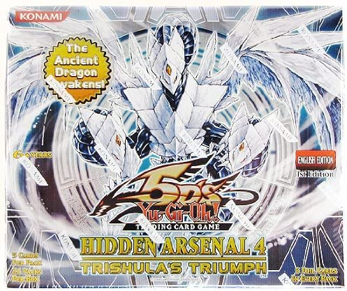 YuGiOh Be super welcome 5Ds Hidden Arsenal 4 Trishulas Box 24 Triumph Sale Special Price Pac Booster