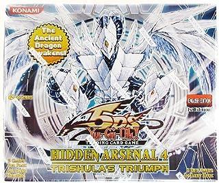YuGiOh 5Ds Hidden Arsenal 4 Trishulas Triumph Booster Box 24 Packs