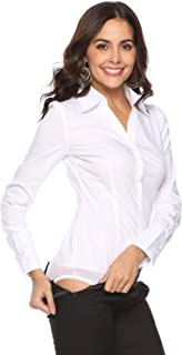 Best women's button up bodysuit Reviews