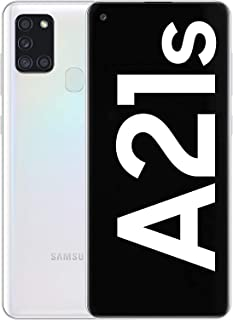 Samsung Galaxy A21s Dual-SIM 32GB ROM + 3GB RAM Factory Unlocked 4G Smartphone (Silver) - International Version