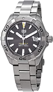 Tag Heuer Aquaracer Calibre 5 Black Dial Stainless Steel Men's Watch WBD2113.BA0928