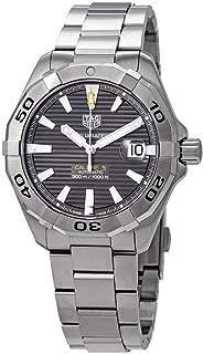 Aquaracer Calibre 5 Black Dial Stainless Steel Men's Watch WBD2113.BA0928