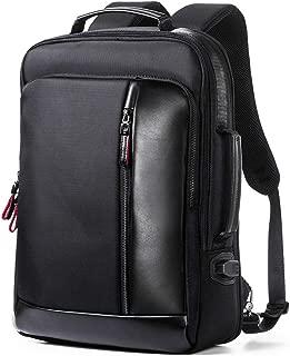 ビジネスリュック メンズ 大容量 バックパック 革 防水 リュック A4サイズ 15.6インチPCパソコン対応 カジュアル オシャレ PABIN