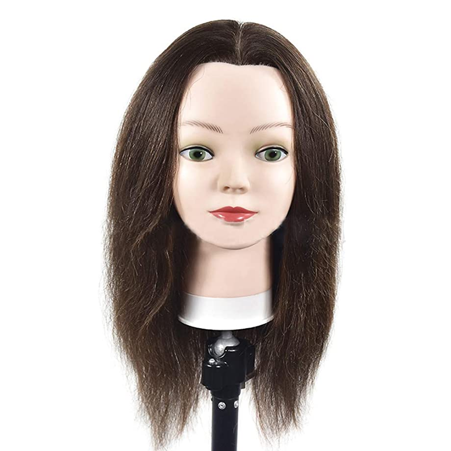 バンク世辞足音サロン髪編組理髪指導ヘッドスタイリング散髪ダミーヘッド化粧学習マネキンヘッド