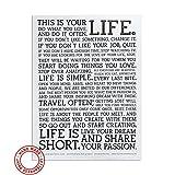 Juniqe® Motivation Zitate & Slogans Poster 18''x24''cm -