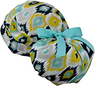 Womens Perfect Fit Ponytail Surgical Scrub Hat Cap - Wild
