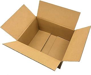 60サイズ ダンボール 日本製 段ボール箱 (外寸約25×20×13cm) 宅配 梱包 引っ越し (10枚)