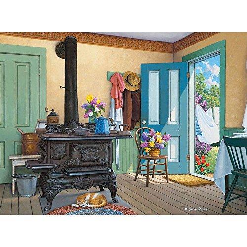 Bits and Pieces 300 Pezzo di Puzzle Fresh Air, Estate Catnap per Artista John Sloane 300 Pc Jigsaw