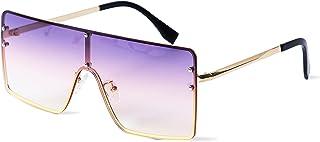 نظارات شمسية كبيرة الحجم من CHAOBUND - نظارات شمسية بنفسجية عصرية للنساء والرجال في عام 2021 - إكسسوارات خارجية للجنسين وأ...