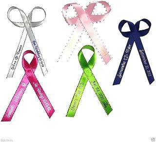 100 Personalized Ribbon 1/4