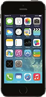 Apple iphone 5S Apple iPhone 5S with FaceTime - 16GB, 4G LTE, Space Gray - Grey (Pack of1)