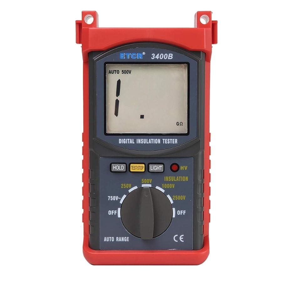 一般的に言えば位置づける憂鬱な測定用品 高電圧2500V絶縁抵抗試験器ETCR3400B 高精度測定