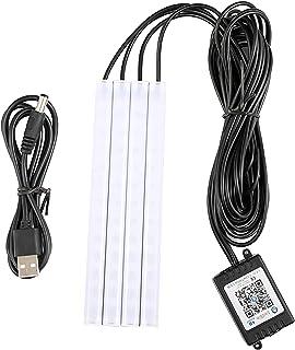 gazechimp Luzes Interiores do carro, Carro LED Luzes de Tira, LEDs de Controle Aplicativo Kit Luz Do Carro, DIY e Modo de ...