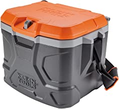 Klein Tools 55600 Work Cooler, 17-Quart Lunch Box Holds 18 Cans, Keeps Cool 30 Hours,..