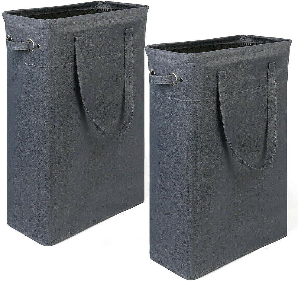 Max 73% OFF 2 Packs 45L Freestanding Nashville-Davidson Mall Laundry Large Toys Collapsible Hamper C