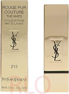 Yves Saint Laurent Rouge Pur Couture The Mats, No. 213 Orange Seventies, 0.13 Ounce