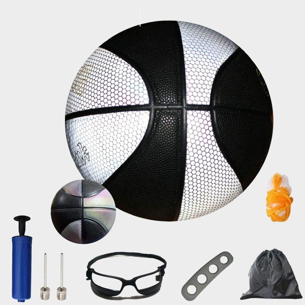 オープニング 大放出セール QIUXING Holographic 開店記念セール Reflective Basketball Take Photos and Videos