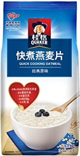 ???QUAKER????? ???? ?? ?? ??? 700g?????????? QUAKER Breakfast Cereal Dietary Fiber Quick Cooked and Quick Cooked Oatmeal 700g (Random Delivery of Old and New Packages)