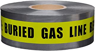 Presco Underground Detectable Warning Tape: 3 in. x 333.3 yds. (Yellow with Black