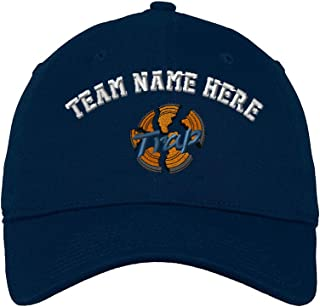 Custom Low Profile Soft Hat Trap Embroidery Team Name Cotton Dad Hat