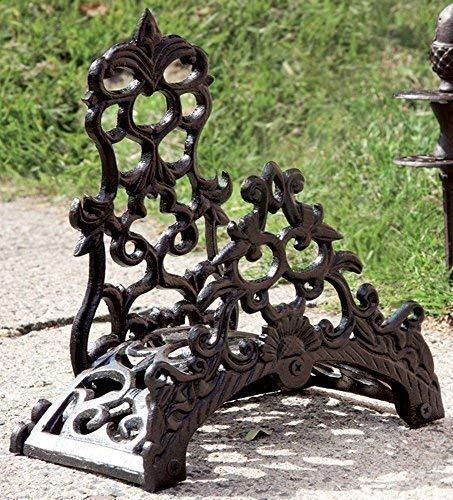 Rústico ferma tubos, fundido, Manguera riego jardín soporte de pared