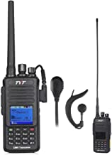 TYT Upgraded MD-390 UHF DMR Digital Radio, with GPS Waterproof Dustproof IP67 Walkie Talkie Transceiver Two-Way Radio, Compatible with Mototrbo, with 2 Antenna