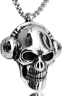 Best skull chain necklace Reviews