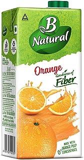 B Natural - Orange Oomph, 1L Carton