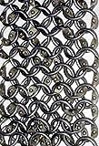 GDFB Tiras de cota de malla: para ampliar la longitud de la cota de malla | 9mm ID - redondos - anillos totalmente remachadas con remaches redondos - Get Dressed for Battle