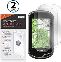 Garmin Oregon 600 Screen Protector, BoxWave [ClearTouch Anti-Glare (2-Pack)] Anti-Fingerprint Matte Film Skin for Garmin Oregon 600