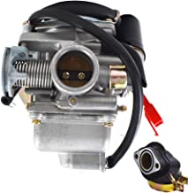 labwork 24mm Electric Carburetor Carb Fit for PD24J 4 Stroke GY6 125cc 150cc Engine Motorcycle