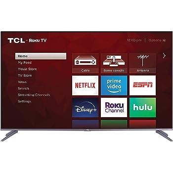 "TCL 55"" 5-Series 4K UHD Dolby Vision HDR QLED ROKU Smart TV (535)"
