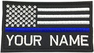 police velcro name patches