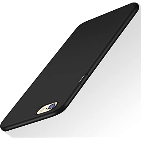 TORRAS Slim Fit iPhone 6S Case Hard Plastic Anti-Scratch Cover Case Compatible with iPhone 6/iPhone 6S, Space Black