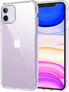 Syncwire UltraRock iPhone 11 Case, Hard PC Back TPU Bumper Shockproof iPhone 11 Phone Cover with Anti-Yellowing and Advanced Drop Protection Technology for Apple iPhone 11 6.1 inch - Crystal Clear