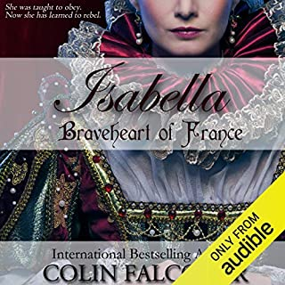 Isabella: Braveheart of France audiobook cover art