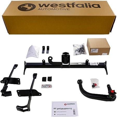 Westfalia Abnehmbare Anhängerkupplung Ahk Für Kia Sportage Bj 02 2016 05 2018 Im Set Mit 13 Poligem Fahrzeugspezifischen Westfalia Elektrosatz Auto