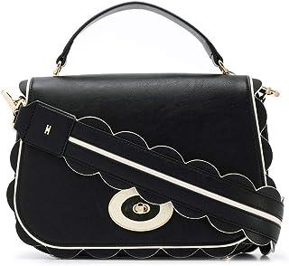 Luxury Fashion | Elisabetta Franchi Womens BS01A96E2685 Black Handbag | Fall Winter 19